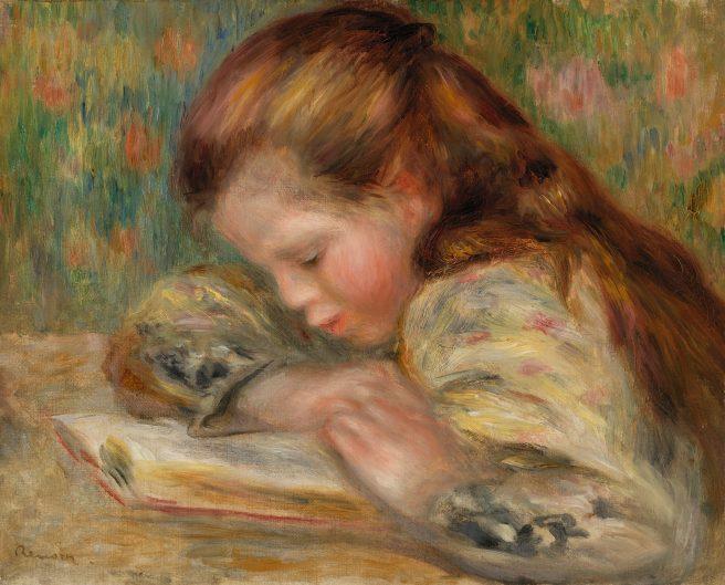 Pierre-Auguste_Renoir_-_Child_Reading_(Enfant_lisant)_-_BF51_-_Barnes_Foundation